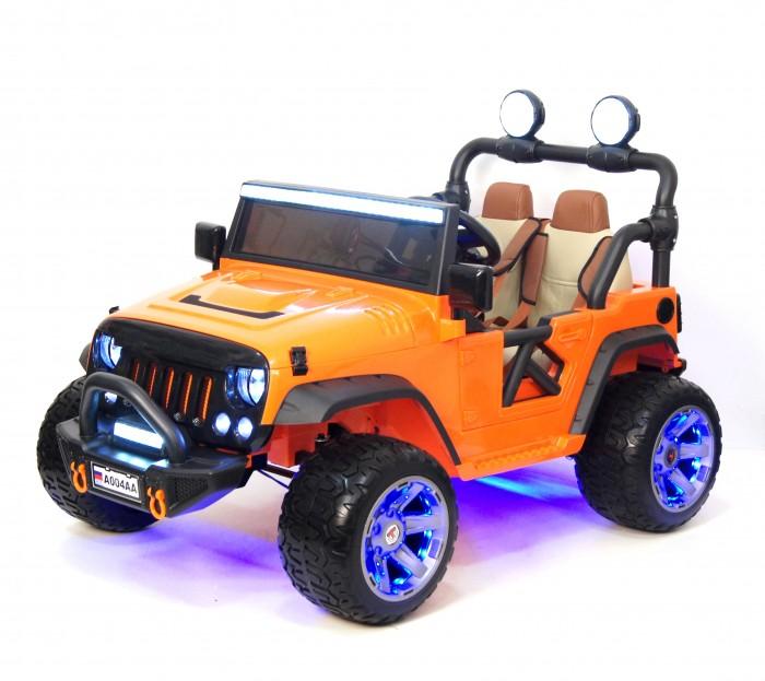 Электромобиль RiverToys Jeep A004AA с дистанционным управлением