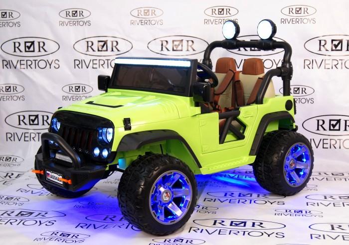 Электромобиль RiverToys Jeep A004AA с дистанционным управлением фото