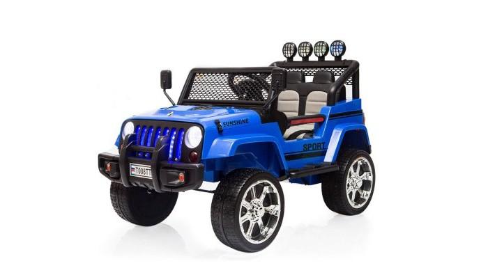 Электромобиль RiverToys Jeep T008TT 4х4 с дистанционным управлением