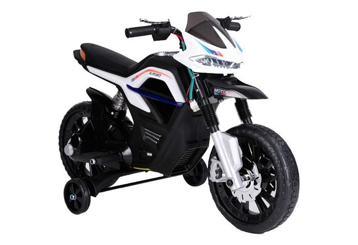 d lex деревянный конструктор мотоцикл с коляской звуковые эффекты Электромобили RiverToys Мотоцикл RALLY JT5158