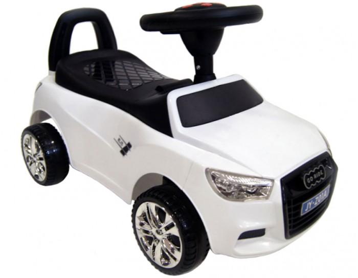 Каталка RiverToys Audi JY-Z01AAudi JY-Z01AКаталка RiverToys Audi JY-Z01A - это очень популярная и любимая многими детьми игрушка. Приводится в движение самим ребенком, путем отталкиваний ножками от пола.  С раннего возраста все детки мечтают о своём первом автомобиле! Толокар RiverToys Audi JY-Z01A - лучший подарок для малыша! Подходит для детей, которые уже научились сидеть самостоятельно. Широкие колёса и сиденье со спинкой обеспечивают комфорт, устойчивость и безопасность во время поездки. Машинка лёгкая и простая в управлении.  Особенности: Звуковые эффекты и световые эффекты Колеса: пластик Место для хранения Сиденье: пластик Устойчивые колеса с поворотом на 90 градусов Каталку можно везти перед собой  Специальное устройство не даст каталке перевернуться на ребёнка Максимальная допустимая нагрузка 20 кг Легкое движение вперёд и назад Для детишек, которые только начинают ходить каталку можно использоваться как ходунки, держась за спинку автомобиля.<br>
