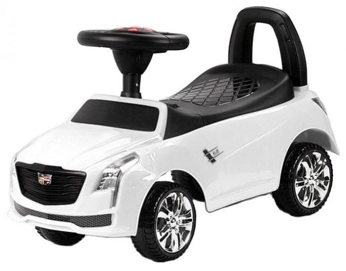 Каталка RiverToys Cadillac JY-Z01DCadillac JY-Z01DКаталка RiverToys Cadillac JY-Z01D - это очень популярная и любимая многими детьми игрушка. Приводится в движение самим ребенком, путем отталкиваний ножками от пола.  С раннего возраста все детки мечтают о своём первом автомобиле! Толокар RiverToys Cadillac JY-Z01D - лучший подарок для малыша! Подходит для детей, которые уже научились сидеть самостоятельно. Широкие колёса и сиденье со спинкой обеспечивают комфорт, устойчивость и безопасность во время поездки. Машинка лёгкая и простая в управлении.  Особенности: Звуковые эффекты и световые эффекты Колеса: пластик Место для хранения Сиденье: пластик Устойчивые колеса с поворотом на 90 градусов Каталку можно везти перед собой  Специальное устройство не даст каталке перевернуться на ребёнка Максимальная допустимая нагрузка 20 кг Легкое движение вперёд и назад Для детишек, которые только начинают ходить каталку можно использоваться как ходунки, держась за спинку автомобиля.<br>