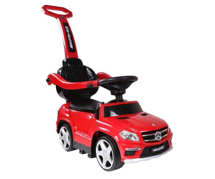 Каталка RiverToys Mercedes-Benz GL63 A888AA-MMercedes-Benz GL63 A888AA-MКаталка RiverToys Mercedes-Benz GL63 A888AA-M - это очень популярная и любимая многими детьми игрушка. Приводится в движение самим ребенком, путем отталкиваний ножками от пола.  С раннего возраста все детки мечтают о своём первом автомобиле! Толокар RiverToys Mercedes-Benz GL63 A888AA-M - лучший подарок для малыша! Подходит для детей, которые уже научились сидеть самостоятельно. Широкие колёса и сиденье со спинкой обеспечивают комфорт, устойчивость и безопасность во время поездки. Машинка лёгкая и простая в управлении.  Особенности: Музыкальный руль: звук клаксона / мелодии заводские Световые эффекты: подсветка панели приборов, светятся фары передние и задние Включение: кнопка Колеса: каучуковые Боковые фиксаторы безопасности Место для хранения Сиденье: кожа Максимальная нагрузка: 20 кг Съемная родительская ручка для поддержки и управления машинкой Отдельная съемная спинка: да<br>