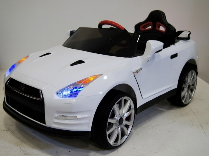 Детский транспорт , Электромобили RiverToys Nissan GTR X333XX арт: 341520 -  Электромобили