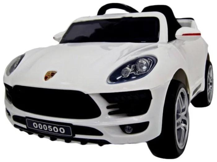 Электромобиль RiverToys Porsche Macan O005OO VIPPorsche Macan O005OO VIPЭлектромобиль RiverToys Porsche Macan O005OO VIP - шикарный транспорт, который приведет в восторг любого ребенка. Он предназначен для комфортной езды в парке, сквере и детской площадке. Электромобиль оснащен звуковым сигналом и световыми эффектами, а благодаря наличию пульта ДУ родители всегда смогут контролировать движение машины. Электромобиль изготовлен с применением современных технологий и качественного и ударопрочного материала.  Особенности: Для детей от 3 до 9 лет Напряжение — 12 вольт Сиденье кожаное с пятиточечным ремнем безопасности Колеса: EVA-резина низкопрофильные Дистанционный пульт управления: индивидуальный( настраивается по Bluetooh) Время работы 1 заряда батареи — 2 часа Ремни безопасности Звуковые и световые эффекты, сигнал, свет фар, музыкальный руль Подсветка приборной панели;открываются двери Вход для USB, MP3, micro-SD, FM радио Заводится с кнопки Скорость: 3-6 км/ч Высокий и низкий режим скорости Плавный ход Амортизаторы<br>