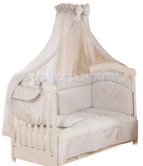 Комплекты в кроватку Roman Baby Polvere Di Stelle (5 предметов) roman baby панно на стену roman baby lucciole арт 5408