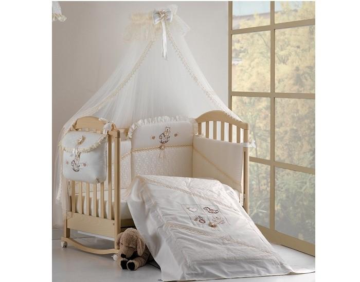 Постельное белье Roman Baby Romantica (3 предмета)Romantica (3 предмета)Комплект постельного белья Roman Baby Romantica - это изысканное белье, которое Вы можете приобрести как дополнение к основному комплекту из серии Country. Белье сшито из прекрасного высококачественного хлопка. При пошиве белья Roman Baby используются только гипоаллергенные ткани и нетоксичные красители.   Особенности:    Сшито из высококачественного гипоаллергенного хлопка;  Использовались только нетоксичные красители;  Украшено аппликациями;  Белье можно стирать при температуре 30 гр в режиме бережной стирки;   В комплекте:   легкое одеяло-простынь 120х160  простынь на резинке 110х180  наволочка 40x60   Материал: 100% хлопок<br>