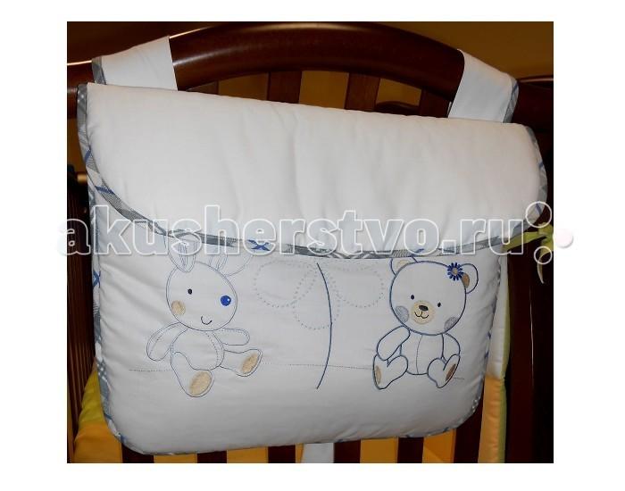 Постельные принадлежности , Карманы и панно Roman Baby Сумка на кроватку Country арт: 43940 -  Карманы и панно