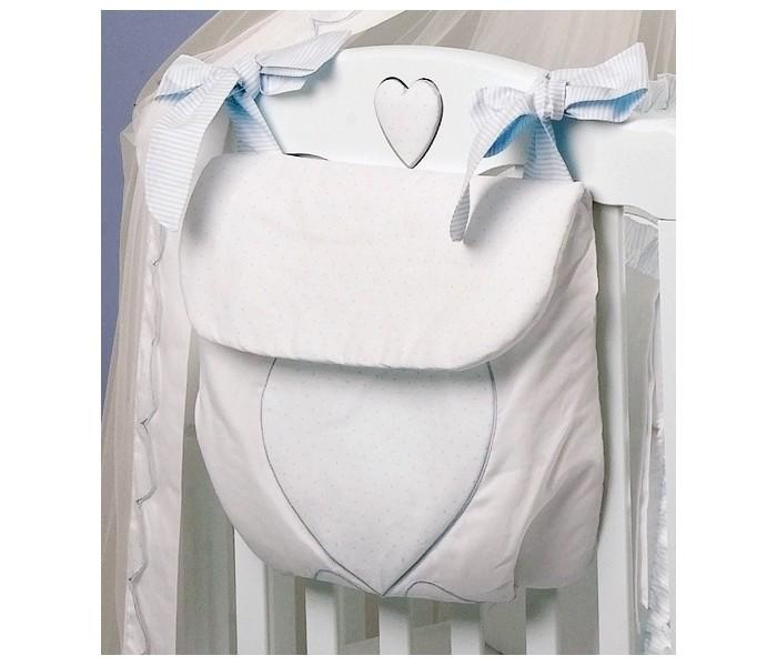 Постельные принадлежности , Карманы и панно Roman Baby Сумка на кроватку Cuore di Mamma арт: 20004 -  Карманы и панно