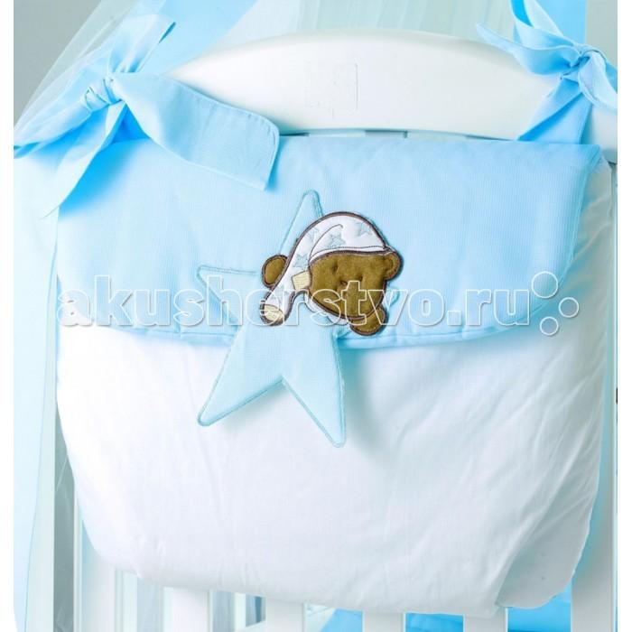 Постельные принадлежности , Карманы и панно Roman Baby Сумка на кроватку Stella Stellina арт: 20009 -  Карманы и панно