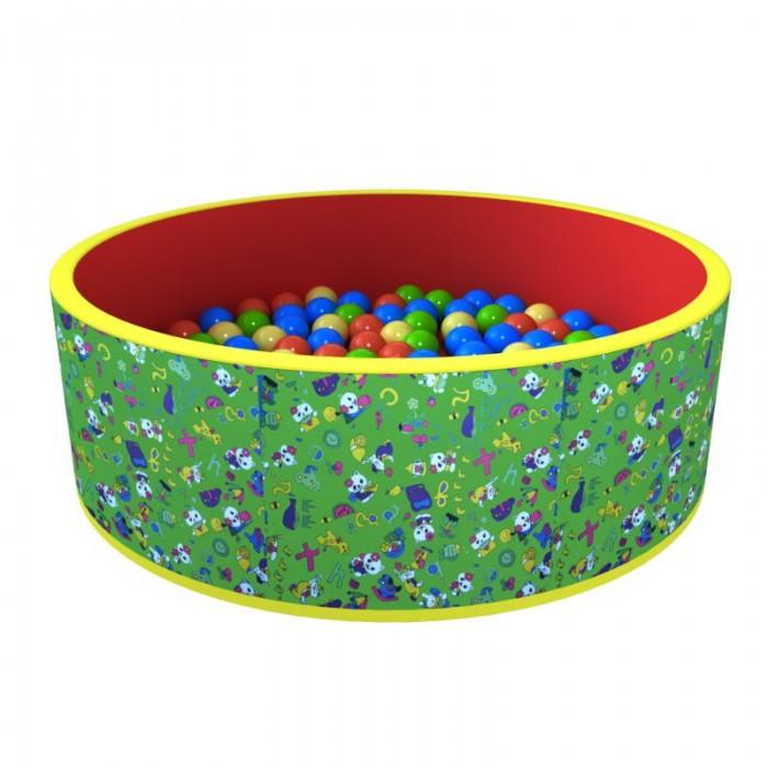 Купить Сухие бассейны, Romana Сухой бассейн Весёлая полянка 100 шариков