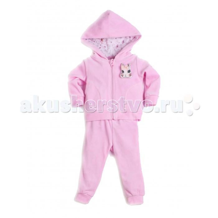 Комплекты детской одежды Free Age Комплект Алиса (джемпер с капюшоном и брюки) free age free age комплект одежды для малыша кофточка и штанишки розовый