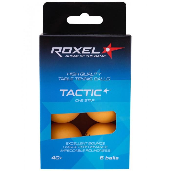 Спортивный инвентарь Roxel Мяч Tactic 6 шт. спортивный инвентарь donic schildkrit мяч prestige 6 шт