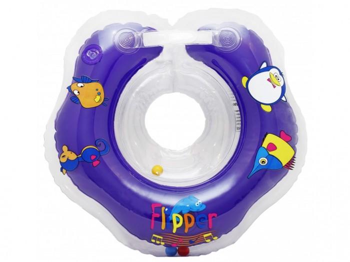 Круги для купания ROXY Flipper Music на шею музыкальный круг на шею для купания roxy kids flipper цвет голубой