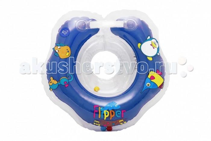 Круги для купания ROXY Flipper Music на шею музыкальный roxy kids круг музыкальный на шею для купания flipper цвет розовый