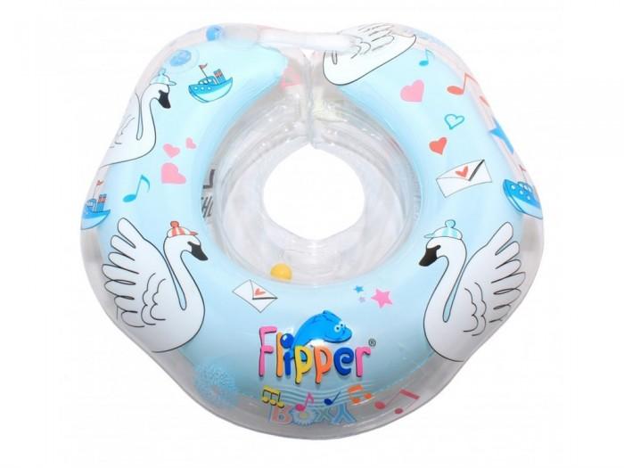 Круги для купания ROXY Flipper 0+ на шею музыкальный круг для купания на шею roxy kids flipper лебединое озеро музыкальный в ассортименте