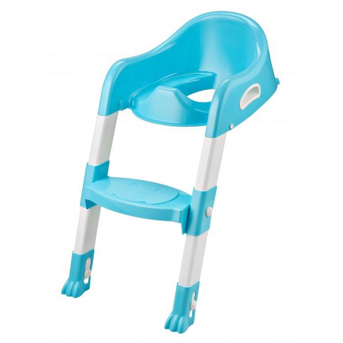 ROXY Насадка на унитаз с ножками и ступенькойНасадка на унитаз с ножками и ступенькойУдобная насадка на унитаз со ступенькой для детей от 2 лет. Позволяет отказаться от использования обычного детского горшка. Приучает ребенка с ранних лет к пользованию взрослым унитазом, удовлетворяя желание малышей повторять все за взрослыми.   С помощью этого нехитрого приспособления малыш сможет самостоятельно сходить в туалет и почувствовать себя «уже взрослым» – ведь это так важно для ребёнка.  Легко собирается и разбирается для транспортировки.   Ступенька с антискользящим покрытием, удобные ручки для помощи при залезании и слезании.  Ножка насадки также оснащена надежными антискользящими креплениями для дополнительной безопасности и устойчивости.   Состав: Пластик Размер: 59х37х23 см  При поставке цветовые решения игрушек могут отличаться от выложенных на сайте!<br>