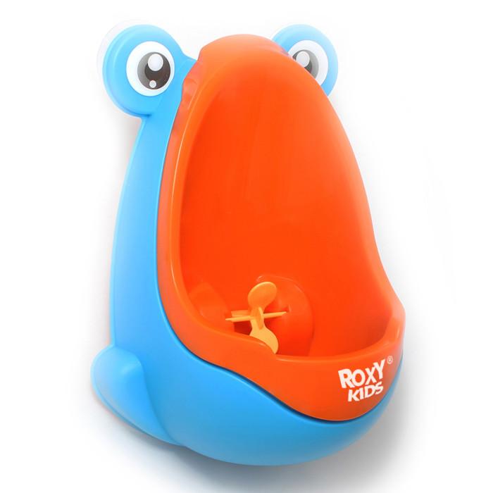 Горшки ROXY Писсуар Лягушка с прицелом писсуар roxy kids для мальчиков с прицелом лягушка оранжево голубой