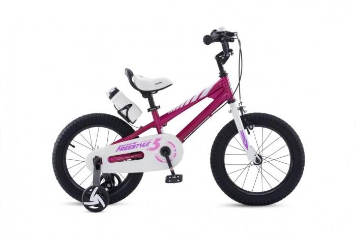 Двухколесные велосипеды Royal Baby Freestyle Steel 14 детский велосипед royal baby honey steel 18 2016 черный