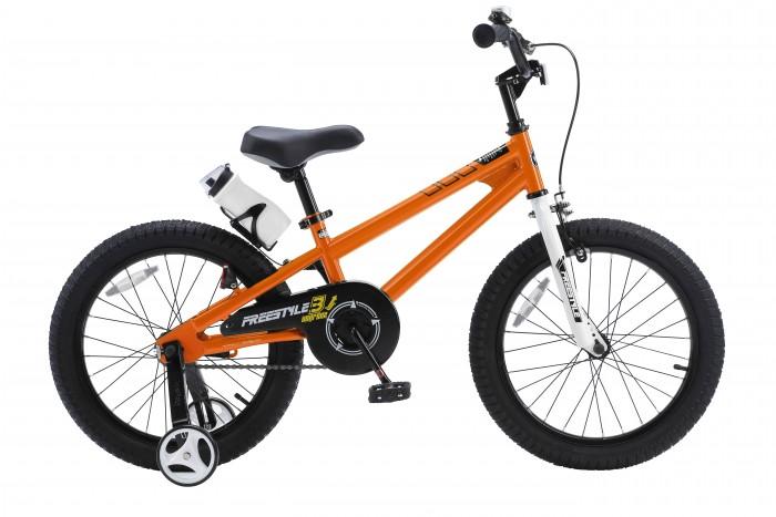 Двухколесные велосипеды Royal Baby Freestyle Steel 18 детский велосипед royal baby honey steel 18 2016 черный