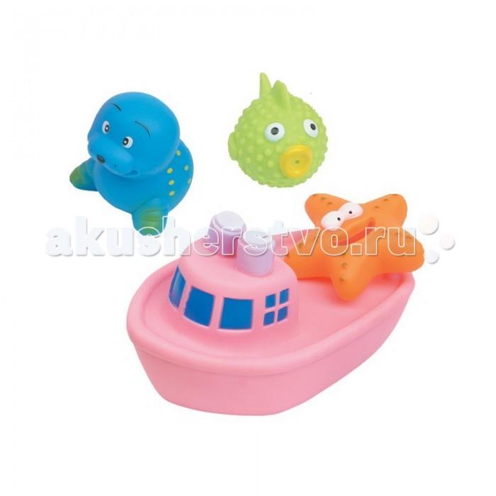 Игрушки для ванны Курносики Игрушка для ванной Веселое путешествие