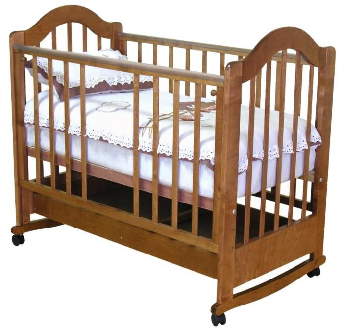 Детская кроватка Можга (Красная Звезда) Злата С-353 с ящиком качалка