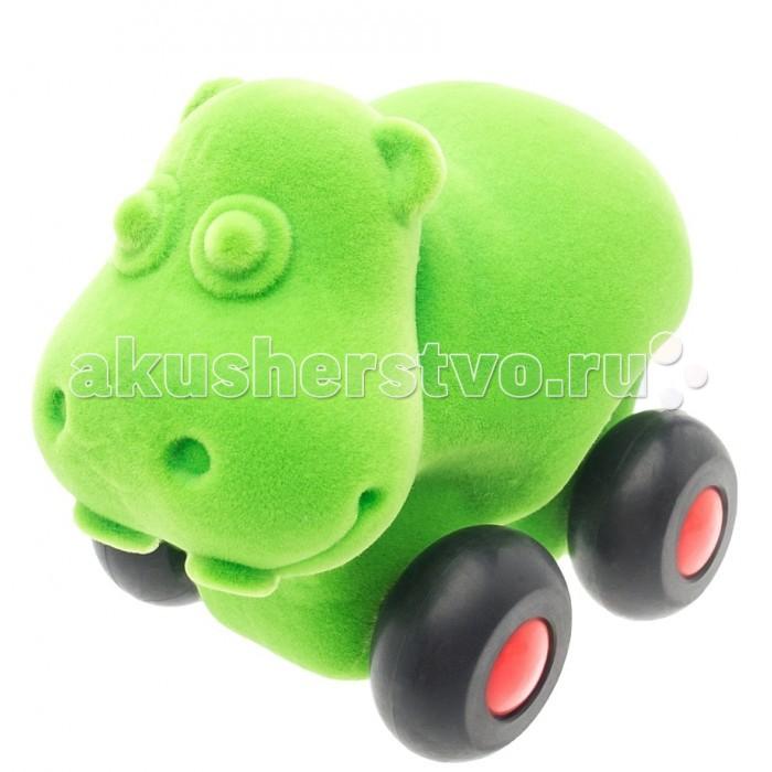 Развивающие игрушки Rubbabu Бегемот из натурального каучука с флоковым покрытием 9 см машины rubbabu скутер из натурального каучука с флоковым покрытием 21 см