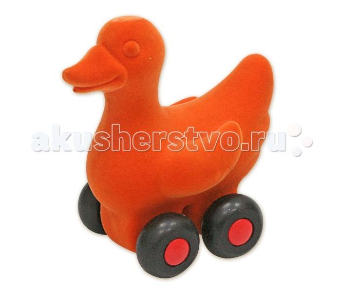Развивающие игрушки Rubbabu Лебедь из натурального каучука с флоковым покрытием 10 см машины rubbabu скутер из натурального каучука с флоковым покрытием 21 см