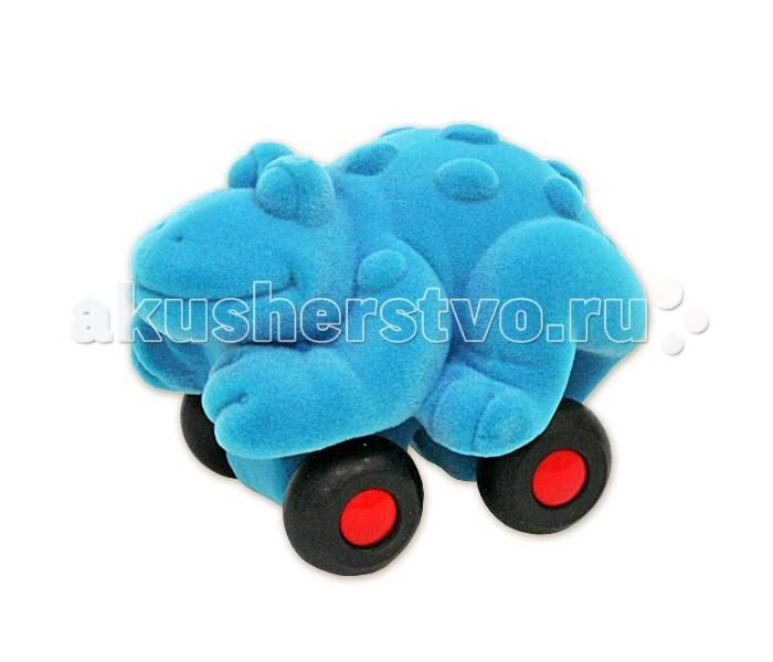 Развивающие игрушки Rubbabu Лягушка из натурального каучука с флоковым покрытием 10 см машины rubbabu скутер из натурального каучука с флоковым покрытием 21 см