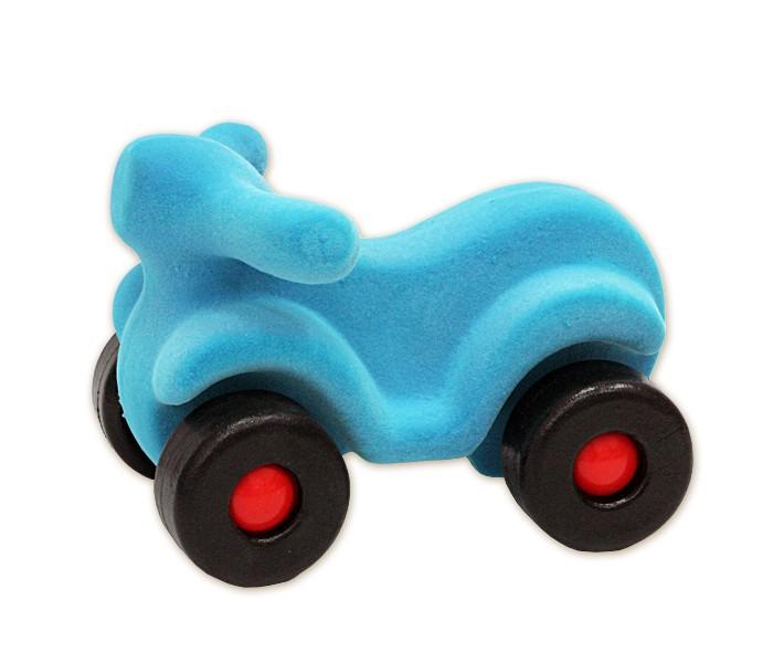 Машины Rubbabu Скутер из натурального каучука с флоковым покрытием 21 см купить б у японский скутер в одессе