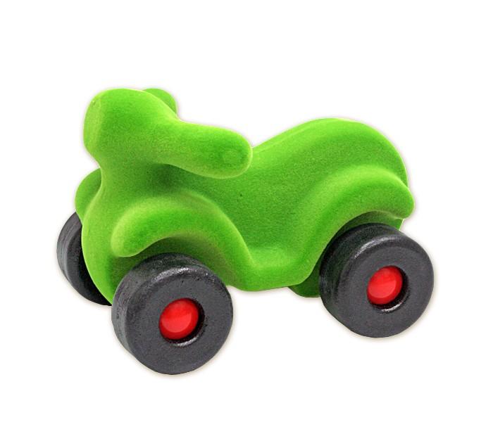 Машины Rubbabu Скутер из натурального каучука с флоковым покрытием 21 см машины rubbabu скутер из натурального каучука с флоковым покрытием 21 см