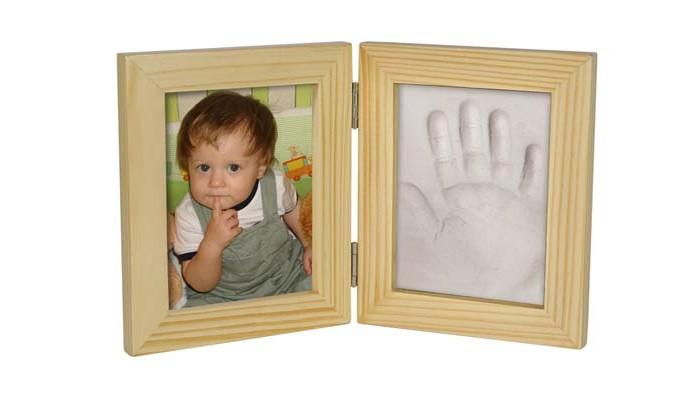 Фото - Фотоальбомы и рамки РучкиНожки Рамочка Принт двойная маленькая 25х15 фотоальбомы и рамки pearhead рамочка мой первый день рождения