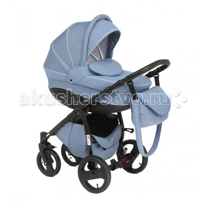 Коляска Rudis Sibis Exclusive 2 в 1Sibis Exclusive 2 в 1Коляска Rudis Sibis Exclusive 2 в 1 является стильным и удобным транспортом для любого ребенка от рождения и примерно до трех с половиной лет.  В управлении данная модель очень удобная. Маневренность, плавный и тихий ход этой коляске обеспечивают резиновые колеса.  Представленная коляска оснащена амортизацией, прогулочным блоком и поворотными колесами.  Для внутренних тканей предусмотрена специальная технология Silver Plus.  Для съемной люльки предусмотрена функция качания.  Особенности:  Покрытие коляски можно снять и постирать Позицию ребенка в коляске можно менять, малышу при этом будет комфортно в любом положении Коляска оснащена светоотражателями, что дает возможность гулять с ребенком в любое время, ни о чем не беспокоясь Подножку можно регулировать по высоте для удобства Коляска очень легко складывается и раскладывается, благодаря чему она не займет много места в автомобиле или в квартире Возможность установки специального положения для сна Благодаря специальной защите для ног ребенку будет тепло и уютно в любое время года Возможность регулирования ручки обеспечит комфорт родителям во время прогулки с малышом.<br>