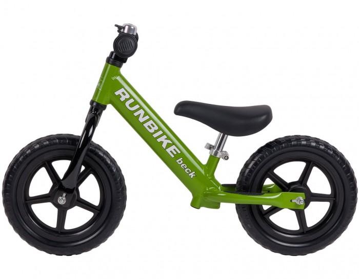 Беговел Runbike Beck ALXBeck ALXБеговелы Runbike – это детские двухколесные велосипеды, у которых нет педалей. Они совмещают в себе черты велосипеда и самоката и помогают держать равновесие.  Характеристики: Легкий! Вес 2.9 кг - для лучшего управления Рекомендуемый возраст - от 1.5 лет  Алюминиевая рама (Alu-pro) с интегрированной опорой для ног  Регулировка под рост ребенка  Бескамерные высокопроходимые шины из EVA полимера Регулируемый руль: 48 - 60 см  Регулируемое сидение: 31 - 39 см (с удлиненным седлом до 50 см, его можно приобрести дополнительно)  Литые колеса с закрытыми подшипниками  У каждого ранбайка свой уникальный порядковый номер<br>