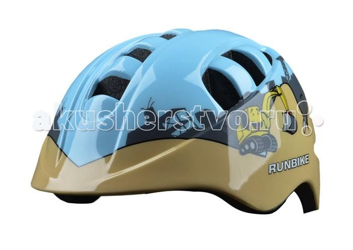 Детский транспорт , Шлемы и защита Runbike Защитный шлем Action pro арт: 100594 -  Шлемы и защита
