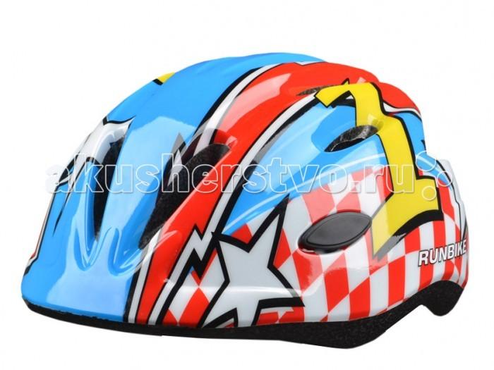 Детский транспорт , Шлемы и защита Runbike Защитный шлем RUN63RB арт: 100567 -  Шлемы и защита