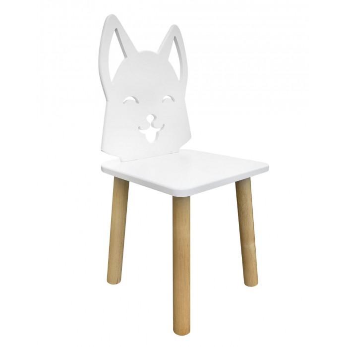 РусЭкоМебель Детский стул Animal Лисенок (натуральный корпус)