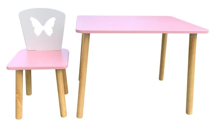 Детские столы и стулья РусЭкоМебель Набор мебели Бабочка