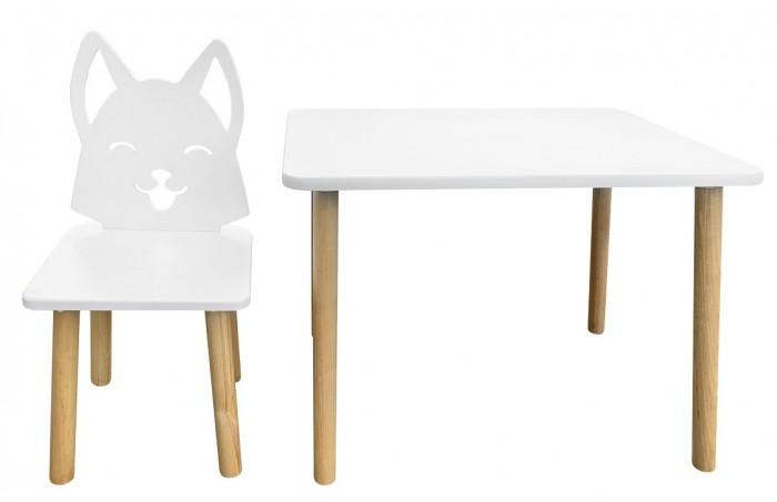 Детские столы и стулья РусЭкоМебель Набор мебели Лисенок