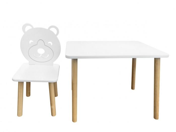 Детские столы и стулья РусЭкоМебель Набор мебели Мишка