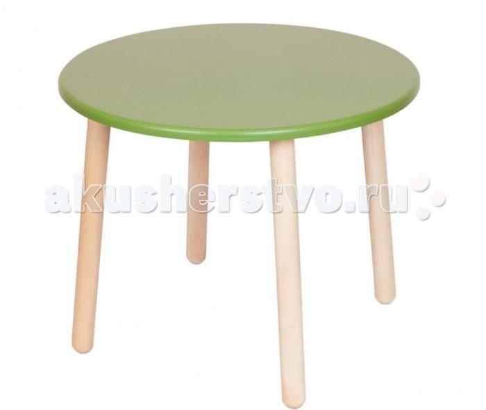 Детские столы и стулья РусЭкоМебель Стол круглый столы детские leokid столы детские