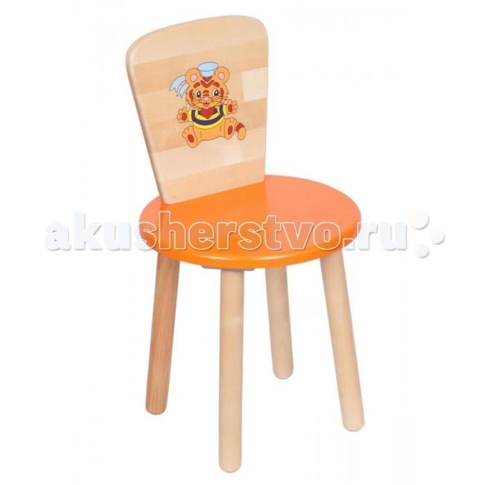 Детские столы и стулья РусЭкоМебель Стул круглый стул орфей хром династия 09 коричневый шатура столы и стулья