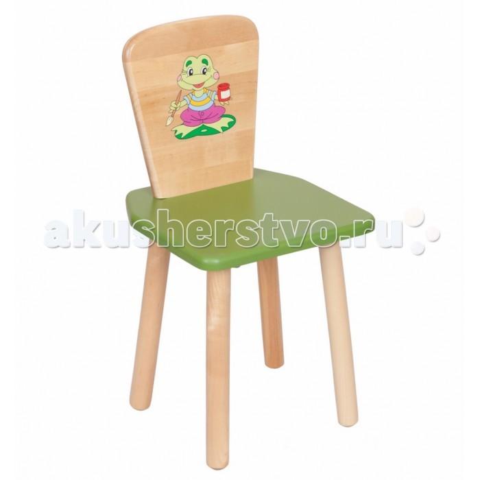Детская мебель , Столы и стулья РусЭкоМебель Стул квадратный арт: 21418 -  Столы и стулья