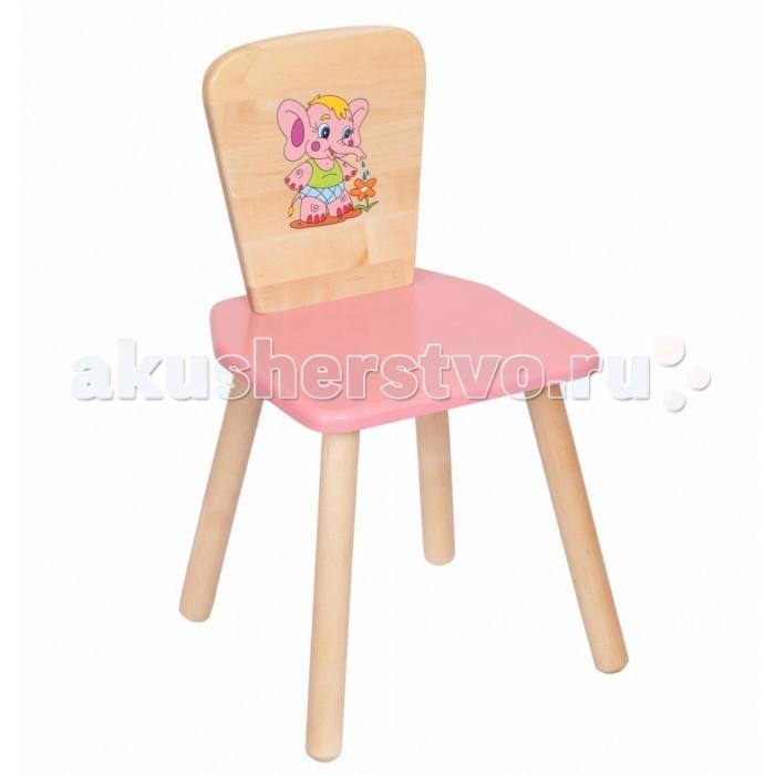 Столы и стулья РусЭкоМебель Стул квадратный столы и стулья хохлома стул детский с художественной росписью из массива