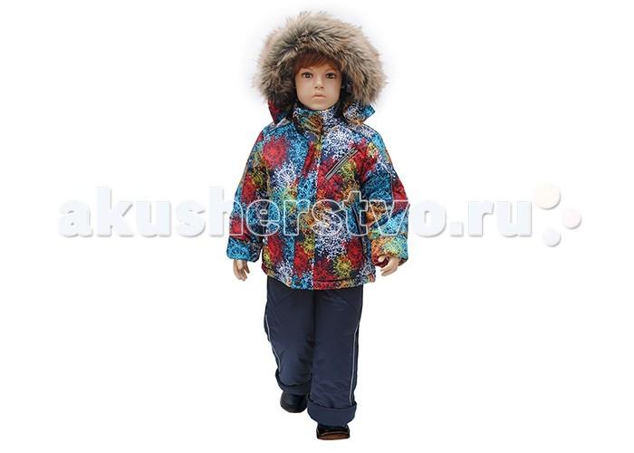 Русланд Комплект зимний А104-15МККомплект зимний А104-15МКЗимний костюм для мальчика со съемной меховой подстежкой и ветрозащитной манжетой на рукавах.   Полукомбинезон с высокой грудкой и спинкой, защитой от снега и регулируемыми бретелями.  Температурный режим: -30 градусов.  Ткань верх: мембрана ВО. Мембрана имеет послойную пористо-пленочную структуру, что дает достаточно высокую степень защиты от влаги и ветра при этом сохраняет дышащие свойства и способность выводить образовавшийся внутри пар. Благодаря этим свойствам, материал хорошо подходит для активных детей в дождливую и холодную погоду. Подклад: флис - 100% полиэстер, трикотаж - 100% хлопок, рукава - капрон-100% полиэстер. Утеплитель: синтепон 100% полиэстер: куртка - 300 гр/м; полукомбинезон - 250 гр/м. Подстежка: Отстегивается! Мех - 30% шерсть, 70% полиэстер. Опушка: искусственный мех.  Для изготовления верхней одежды от TM Rusland используются современные прочные материалы, которые обладают высокой степенью износостойкости. Ткани пропитаны специальными составами, обеспечивающими ветронепроницаемость и непромокаемость одежды. Все материалы, используемые для производства детских изделий, абсолютно безопасны для здоровья и жизни детей.<br>