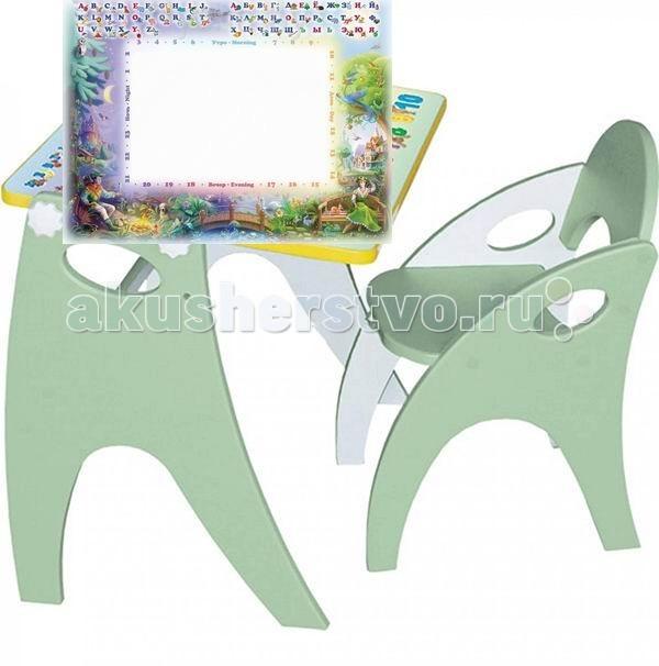 Детские столы и стулья Russia Интехпроект Парта-мольберт + стульчик
