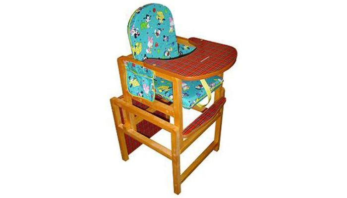 Стульчик для кормления Вилт КсенияКсенияСтульчик для кормления Вилт Ксения — это комплект для кормления ребенка. Удобная столешница гарантирует абсолютную безопасность малышу. Ему понравится гладкая и цветная поверхность стола. Сиденье покрыто цветной водоотталкивающей тканью. Съемный чехол удобен в уходе. Модель легко трансформируется в парту и удобный стульчик, чтобы ребенок смог самостоятельно играть, рисовать и лепить. Ламинированная поверхность столешницы легко протирается, не задерживая остатки пищи. Натуральное дерево сохраняет на годы красивый вид и прочность.  Особенности: Прочная конструкция легко раскладывается Съемный регулируемый столик Трансформируется в стол со стульчиком Мягкое сиденье и подлокотники Ремни безопасности Простота установки и эксплуатации Привлекательный, современный дизайн Чехол из водоотталкаивающей ткани Столешница: красное, лакированное дерево<br>