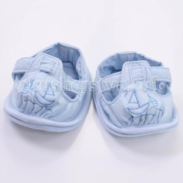 Обувь и пинетки Мотылек Пинетки текстиль