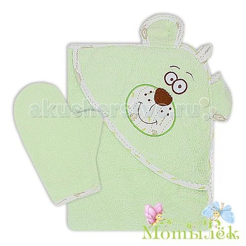 Полотенца Мотылек Полотенце-уголок Мишка