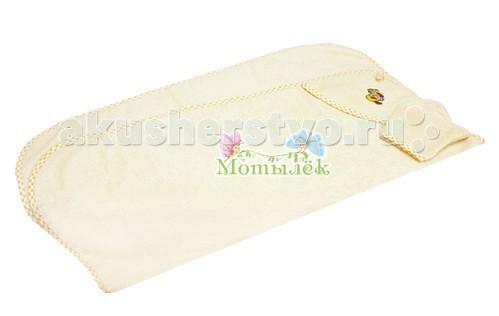 Полотенца Мотылек Полотенце-уголок с рукавичкой полотенце quelle quelle 577898